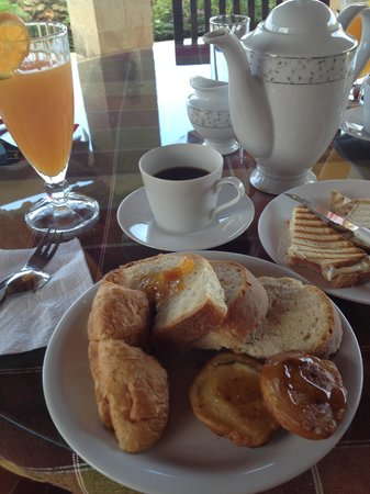 Kavousi Resort: Breakfast