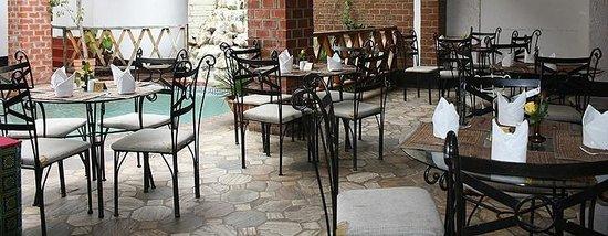 The Lusaka Hotel: Terrace