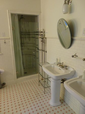 Shafer Baillie Mansion: Amazing shower