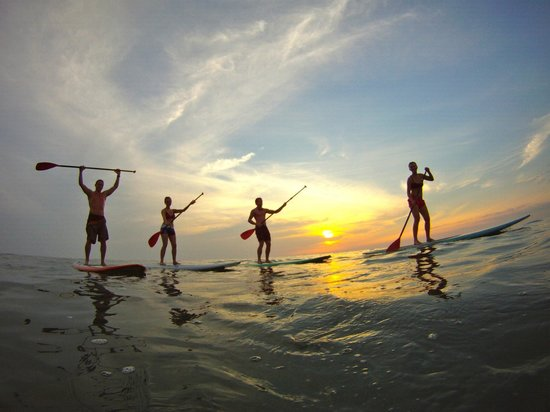 Mal País, Costa Rica: Sunset SUP Tours in Mal Pais are a must!