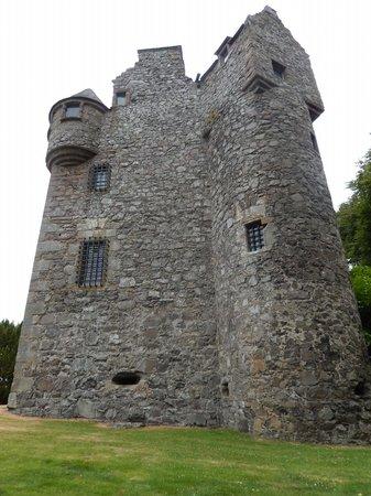 Elcho Castle from the rear