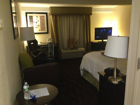 Hampton Inn Jericho - Westbury: Room view as you enter door