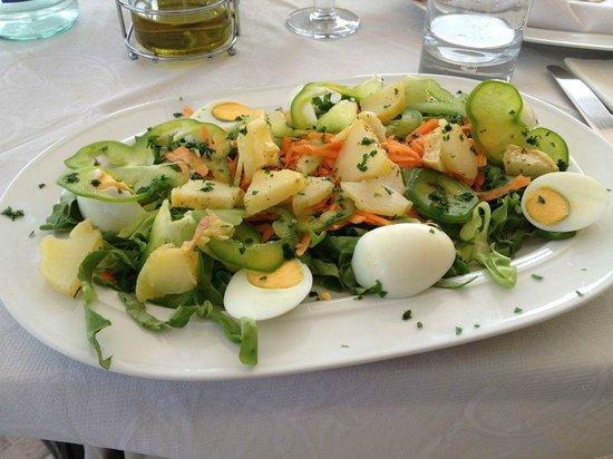 Hotel Villa Cinzia : Vegetarian dish made just for me!