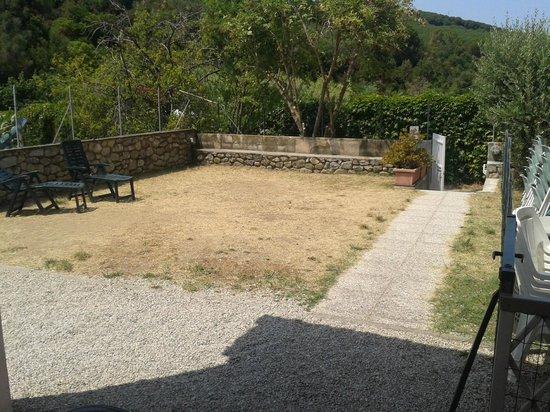 Il Magnifico Elba Resort: giardino