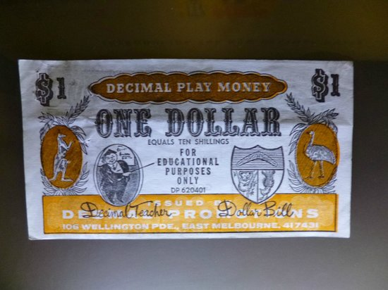 Reserve Bank of Australia Museum: One Dollar