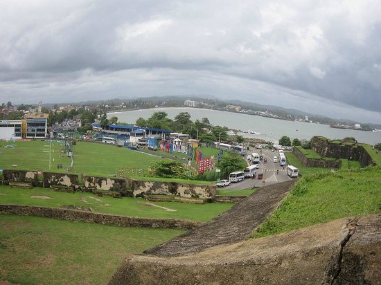 Koggala Beach Hotel: view from dutch fort  in galle