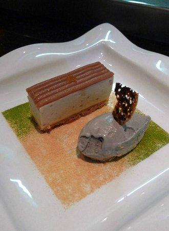 Le Concert de Cuisine: mousse de marron et glace sesame