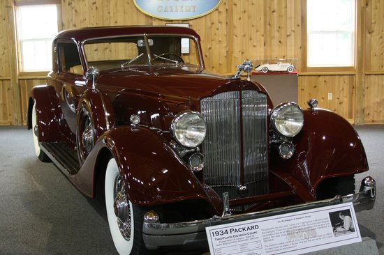 Gilmore Car Museum: 1934 Packard Twelve Dietrich Coupe