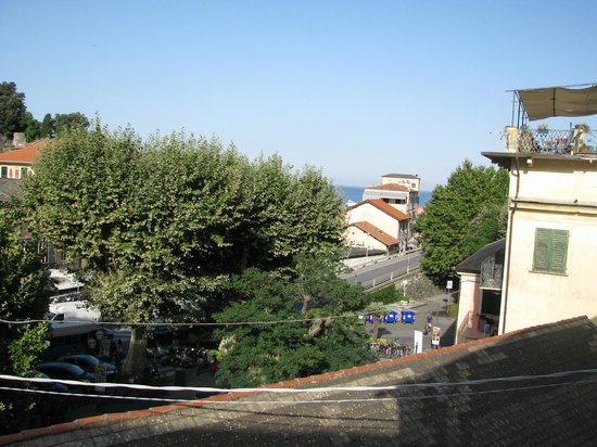 La Loggia : View from the balcony…