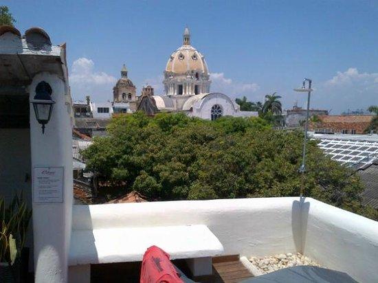 Calamari Hostal Boutique: Rooftop