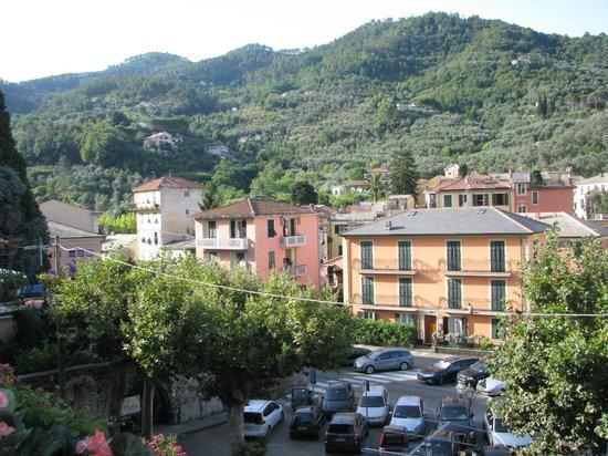 La Loggia: View from the balcony…