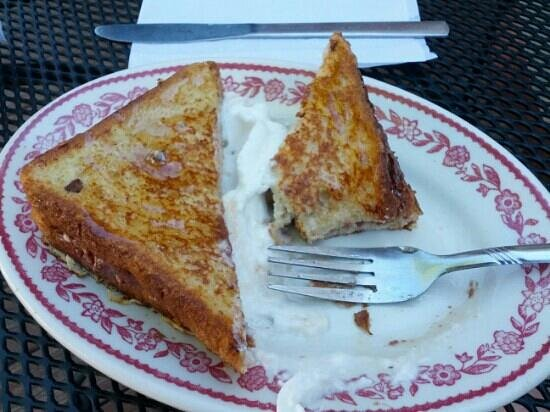 Bank Cafe: stuffed French toast