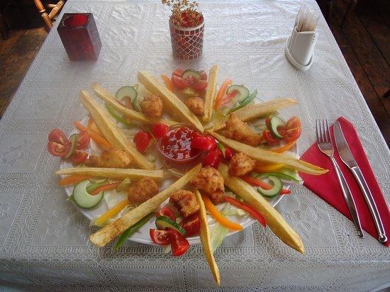 Junipers Restaurant: Sweet and Sour Chicken Balls