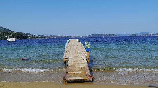 Plaza Skiathos Hotel: The beach