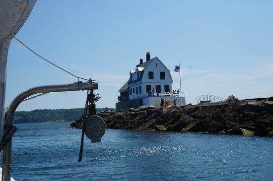 Captain Jack Lobster Boat Adventure: The Rockland Breakwater Light