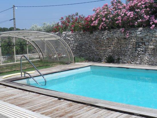 La Dame De The : piscine