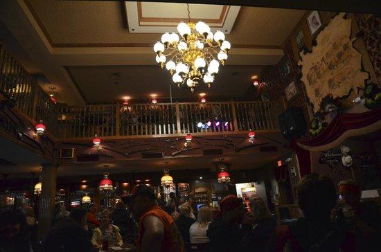 Red Garter Saloon: Inside the saloon