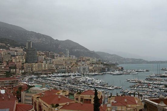 Hotel Capitole: Monaco from The Rock Castle (I call it that way!)