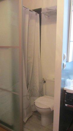 Hotel Parc Mazon : douche+wc