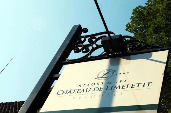 Chateau de Limelette: Arrivée