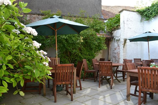 The Good Earth: Our sunny courtyard