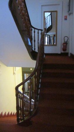Hotel Parc Mazon : escalier