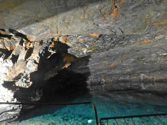 Carnglaze Caverns: inside the caves