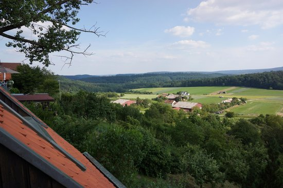 Scenic View From The Hotel Picture Of Burghotel Schoene Aussicht