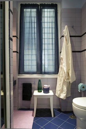 La Quercia di Mamre B&B: bagno/camera Versailles