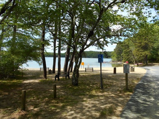 Peters Pond RV Resort: Beach access and swimming