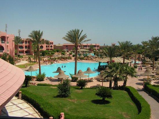 Park Inn by Radisson Sharm El Sheikh Resort: Across one of the pools