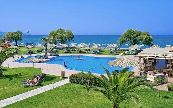 Geraniotis Beach Hotel: Skönt område