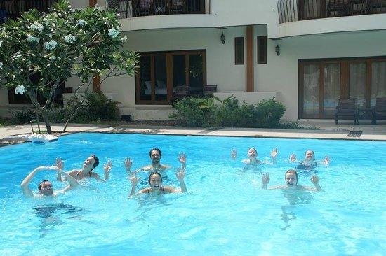Crystal Dive Resort: Swimtest for PADI