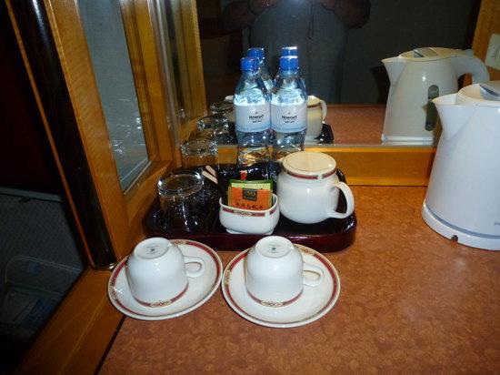 Howard Plaza Hotel Kaohsiung: tee und kaffee auf dem zimmer