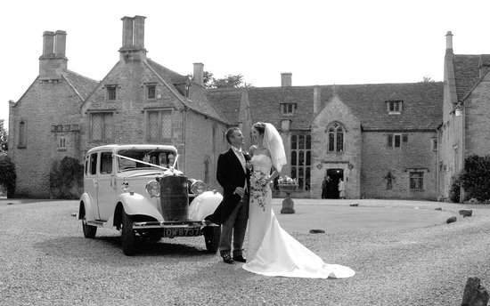 Chavenage House: A Happy Couple at Chavenage