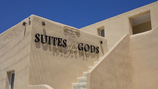 Suites of the Gods Spa Hotel: Entrance