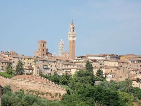 Hotel Il Giardino di SIENA: Room With a View