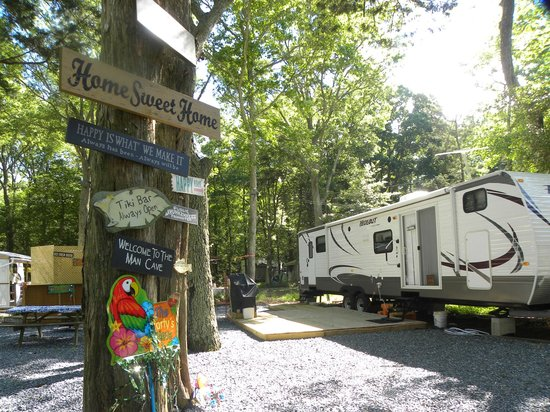 Cape May KOA: Make your rv site your own