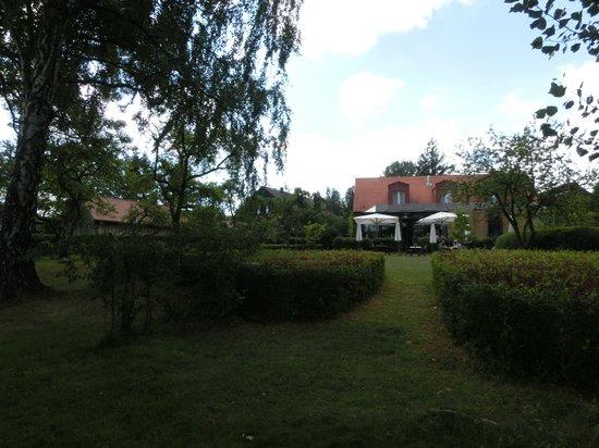 Seehotel Neuklostersee: Hotelterasse