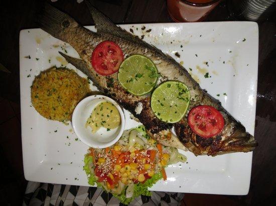 Restaurant La Villa del Chef : The Blanco fish - perfectly done and very tasty