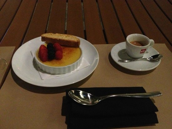 Le Meridien Atlanta Perimeter: Tahitian Creme Brule was fantastic...I've had better espresso though