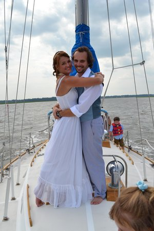 Compass Sailing, LLC: After our ceremony