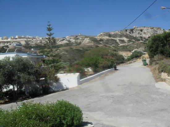 Vasilis Studios: View of the local area
