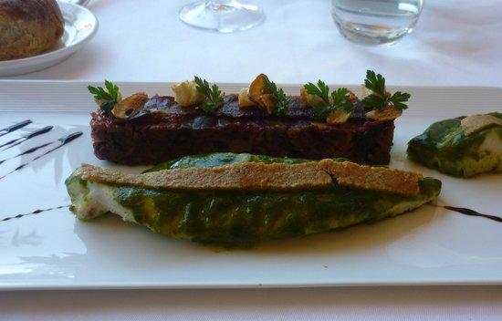 Hotel - Restaurant du Chateau: fab food