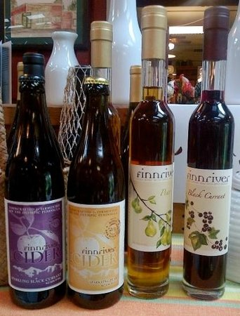 Bay Hay and Feed: Finnriver ciders and brandywine