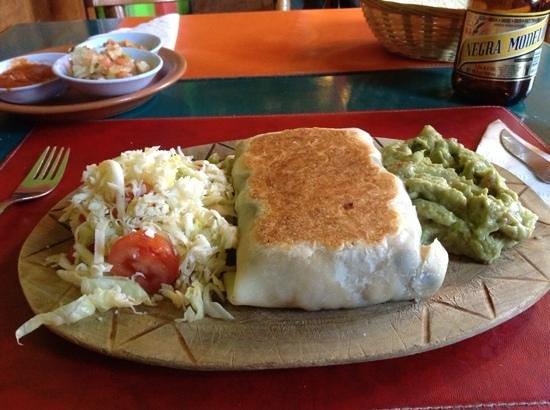 El Mexicano: Burrito Dante-very delicious!