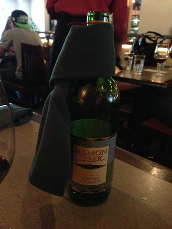 Lavelle's Bistro : Wine we ordered... and loved!