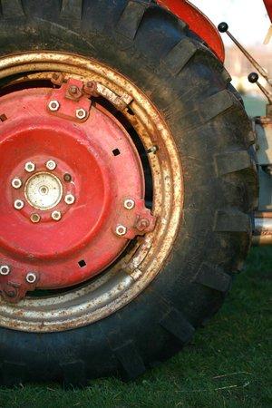 Door County Creamery: Our Tractor