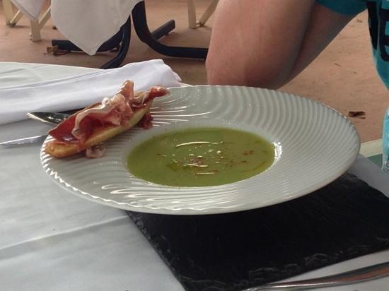 L'Atelier : gaspacho vert