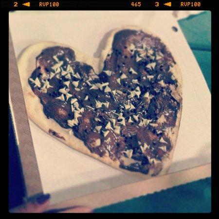 Mamopizza : Pizza alla Nutella
